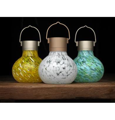 Solar Tea Lantern, Allsop Home And Garden Solar Tea Lantern