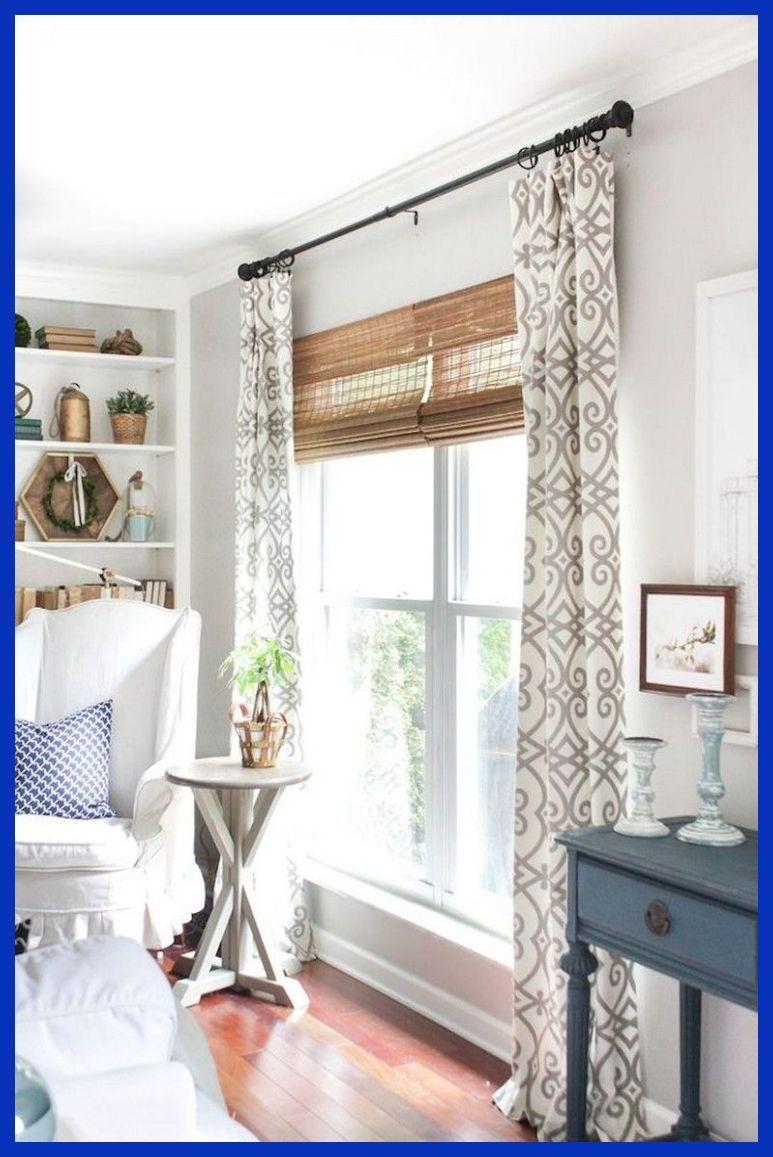 91 Awesome Modern Farmhouse Curtains For Living Room Decorating Ideas Farmhou Living Room Decor Curtains Window Treatments Living Room Farm House Living Room