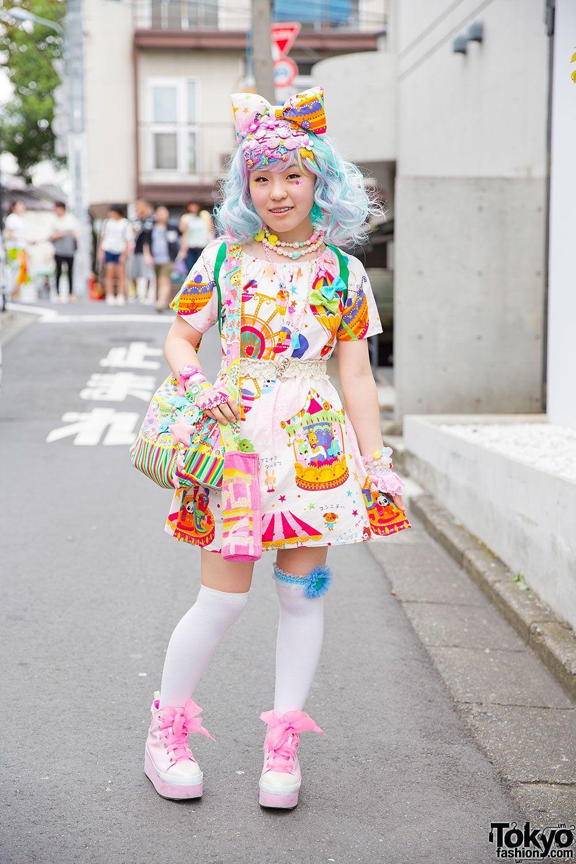 Harajuku Kawaii Experience: Colorful Harajuku Decora Fashion W/ 6%DokiDoki, Mikazuki