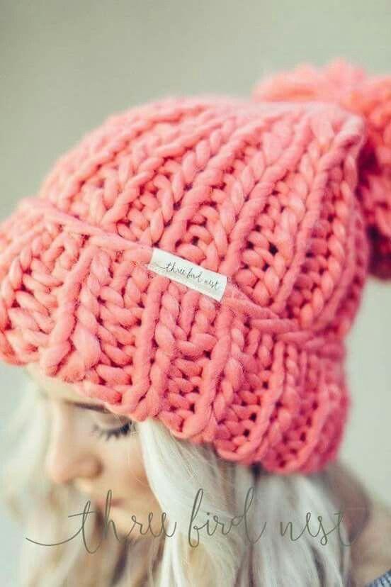 Bobble Hat   patrones punto   Pinterest   Gorros, Tejido y Invierno