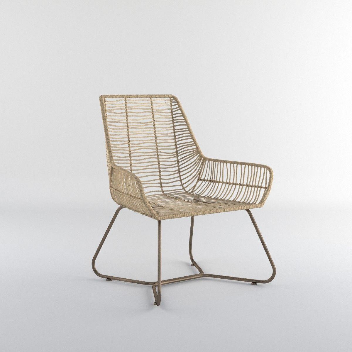 Bekasi Rattan Chair 3d Obj 3d Model Scan Nihon Pinoy