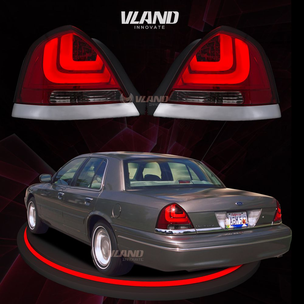 Vland Car Accessories For Victoria 2006 Rear Lamp Crown Tail Lamps Fordvictoriarearlights