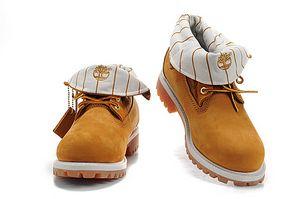 6218e415 Timberland Roll- Top Botas para mujer Amarillo [Timberland Boots ...