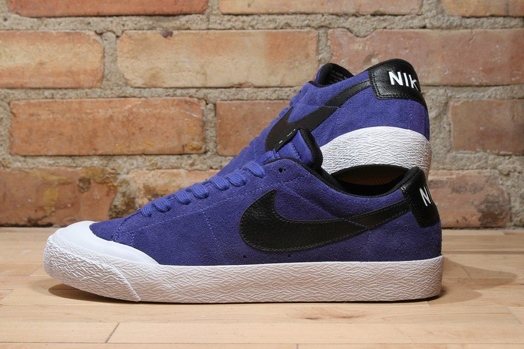 Nike SB Zoom Blazer Low XT  Deep Night Blue  - EU Kicks  Sneaker Magazine 796294841
