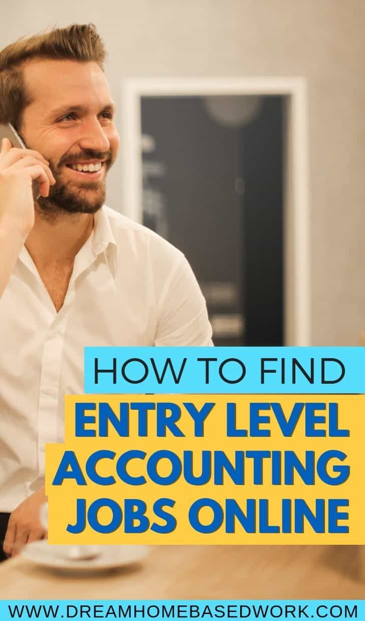 How to find work from home entrylevel accounting jobs