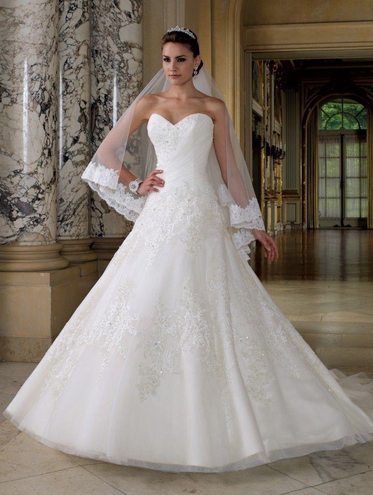 Vestido de novia - David Tutera | Brides & Weddings - Novias & Bodas ...