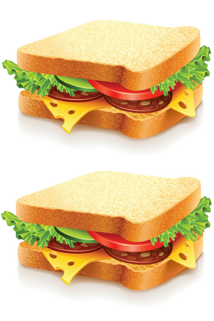 Fast Food Vector Sandwich Available For Free Download At 4vector Com Food Sandwiches Fast Food