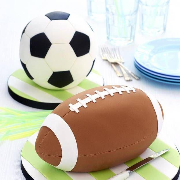 comment faire un gâteau en forme de ballon de foot ? | le secret