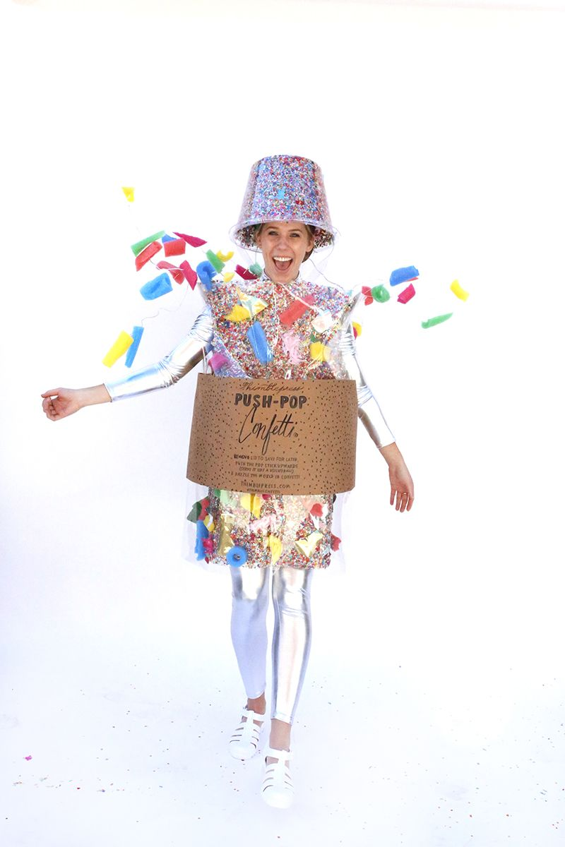 Look what we made! A life-size Push-Pop Confetti®! Head on over to our  blog be17daa332d