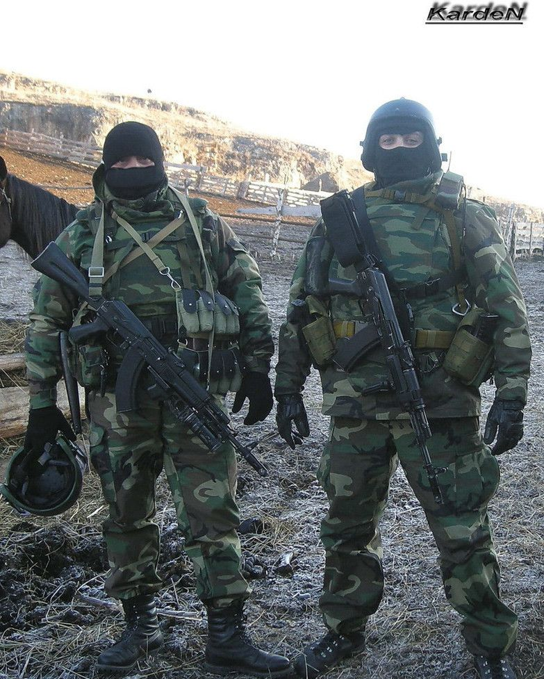 Russian Spetsnaz Photo Russiansoldier001: Russian MVD Spetsnaz Operators During Work, Now