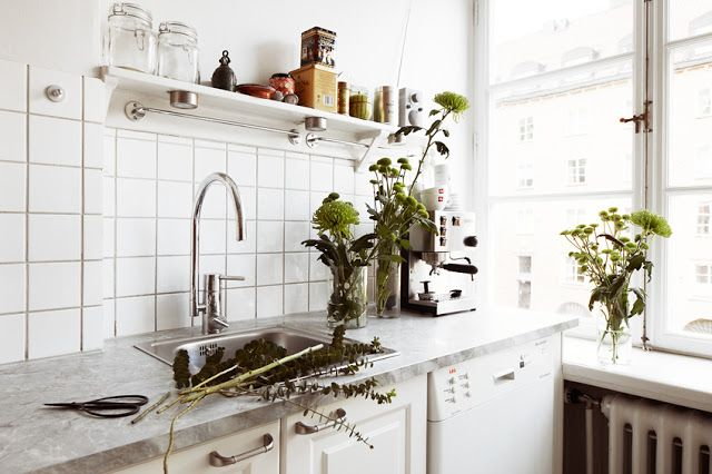 A beautiful Stockholm apartment with mid-century touches