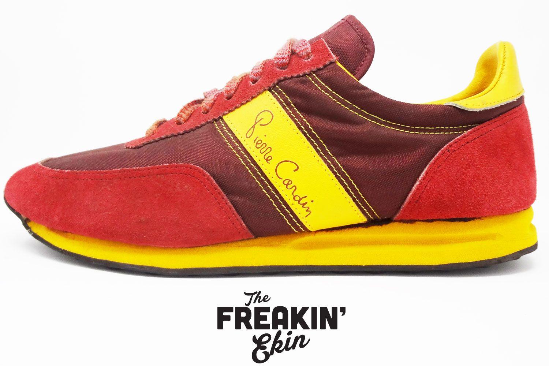 Pierre Cardin 80s Vintage Sneakers The Freakin Ekin Sneakers Vintage Sneakers Retro Sneakers