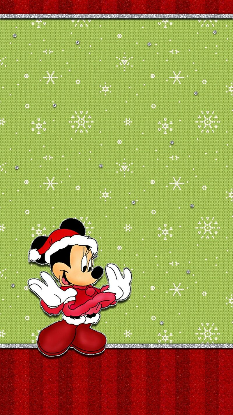 Minnie mouse Minnie mouse christmas, Christmas wallpaper