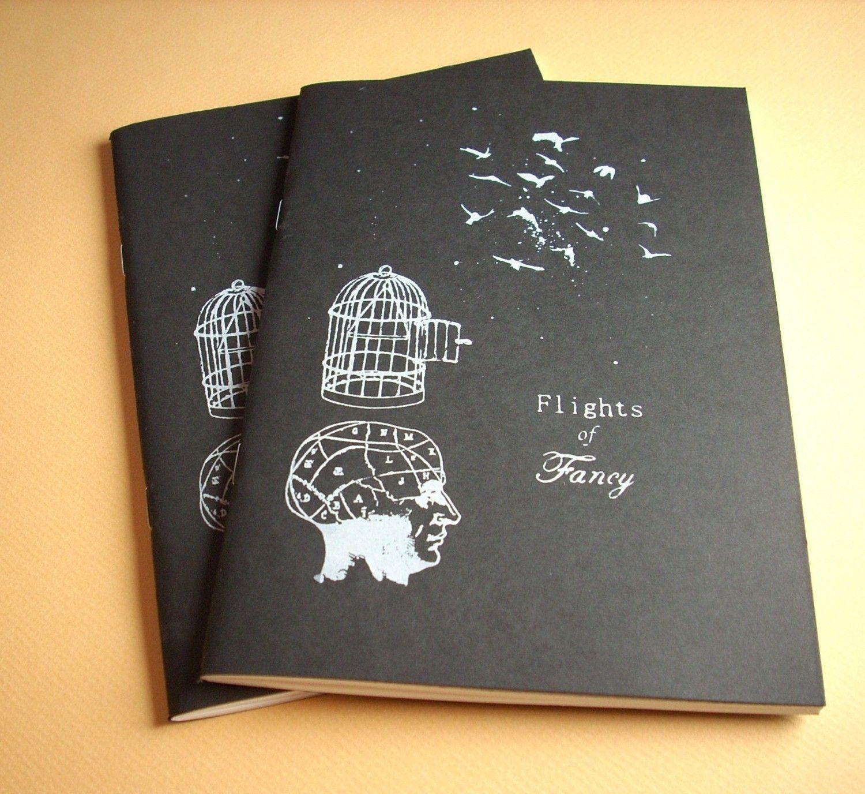 Flights Of Fancy Artist Sketchbook Paper And Print