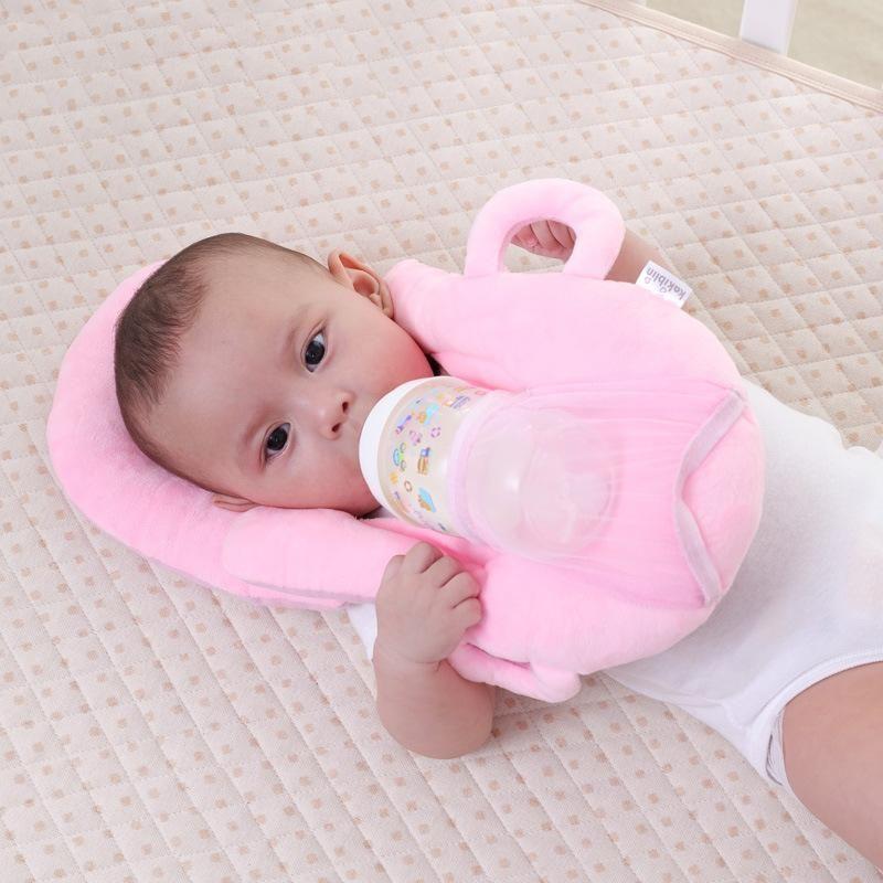 HandsFree Baby Feeding Bottle Holder Cushion Baby