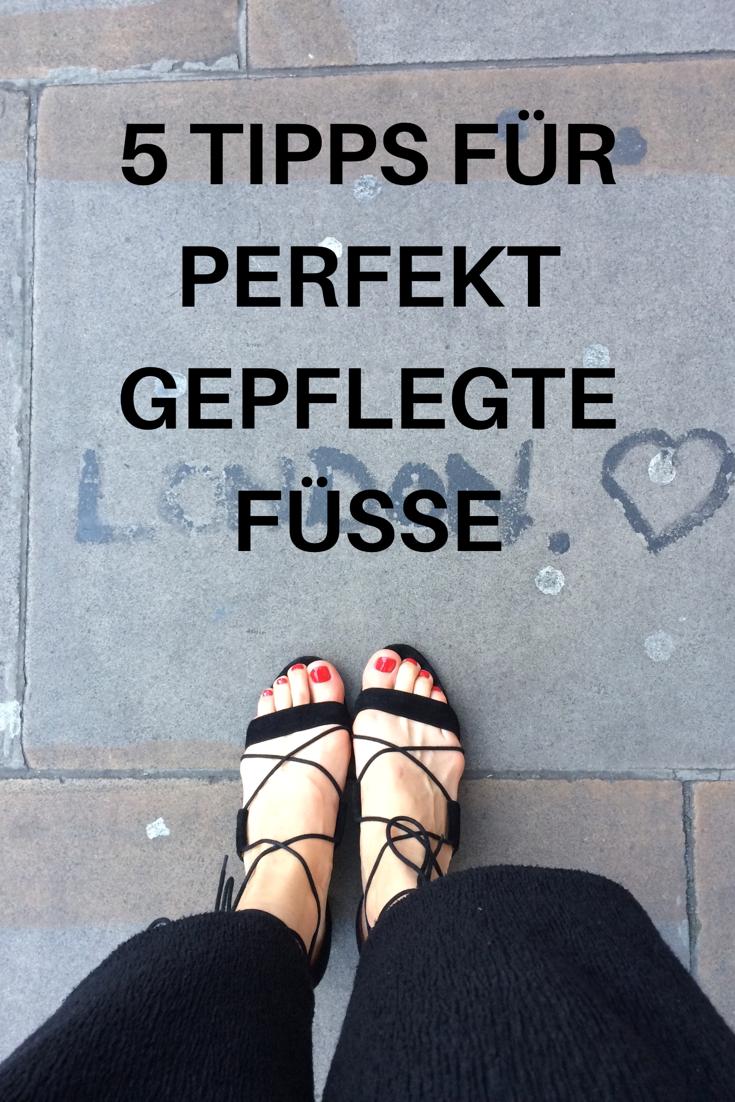 Photo of 5 Tipps für gepflegte Füße im Sommer