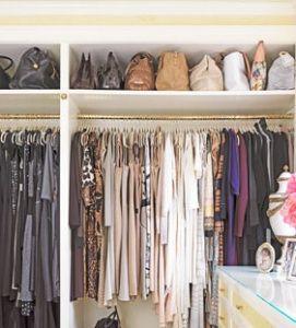 Spéciale coquette : l'organisation des sacs à main | Agencement dressing, Placard sac et Idée ...