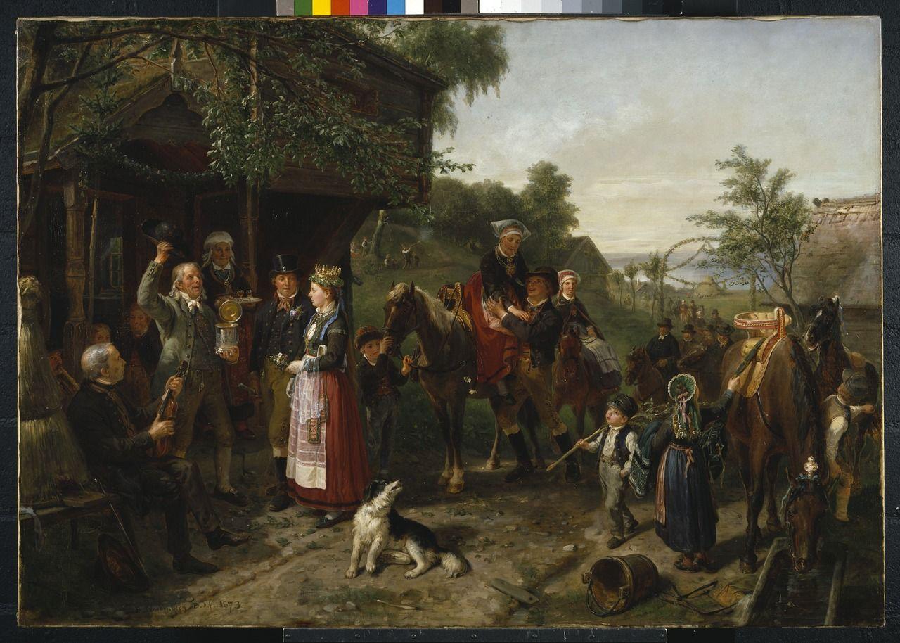 A Varend Wedding Bengt Nordenberg Nationalmuseum 18300 Tif Scandinavian Art Modern Artists Art Music