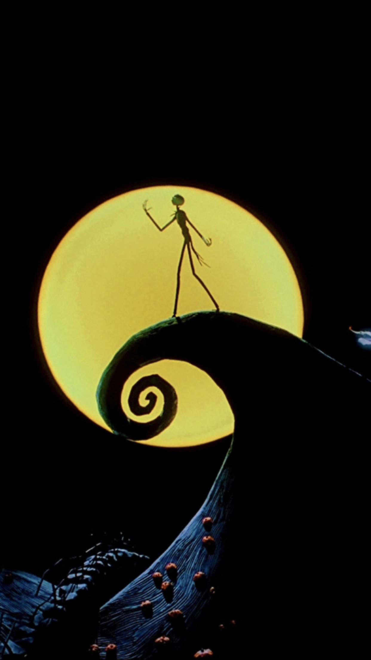 Pin By Dez On Wallpapers Halloween Wallpaper Nightmare Before