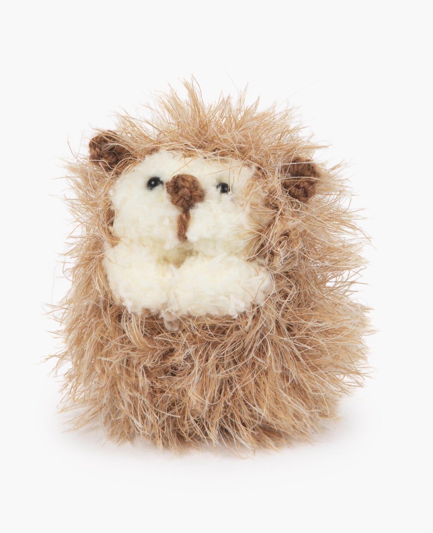 Pompom Hedgehog Knitted animals, Hedgehog, Pocket pet