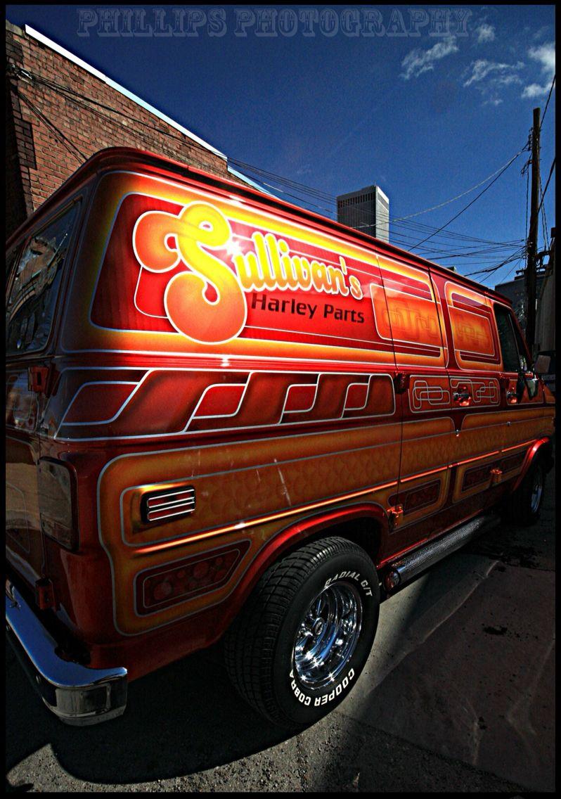"""Sullivan's"" custom van"