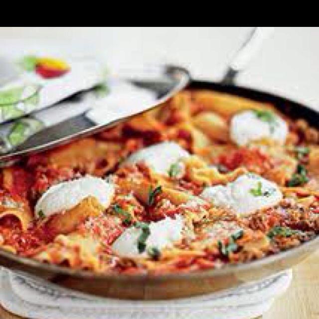 America's Test Kitchen Skillet Lasagna