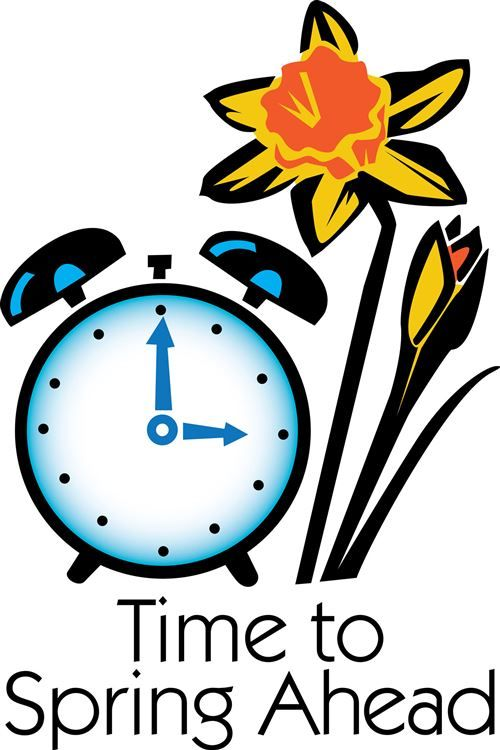 46++ Free clipart fall back time change info