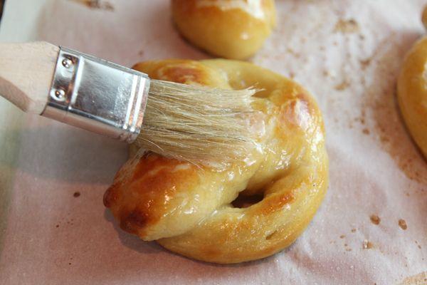 Homemade Soft Pretzels and Cinnamon-Sugar Pretzel Bites by Our Best Bites