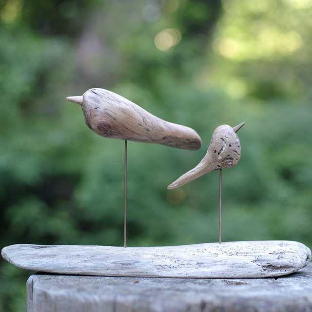 流木の鳥-221  2016    金澤 尚