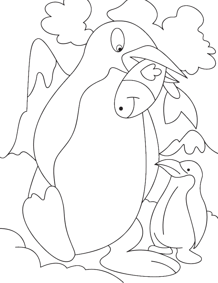 Penguins Get Fish For Eating Together Coloring Pages Penguin Coloring Pages Kidsdrawing Free Penguin Coloring Pages Penguin Coloring Cool Coloring Pages