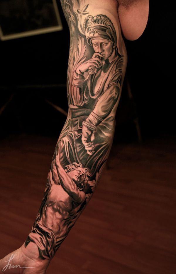 3359162a5706e Tattoo. Mens. Renaissance. Sleeve. Detail. | tattoos!!! | Tattoo ...
