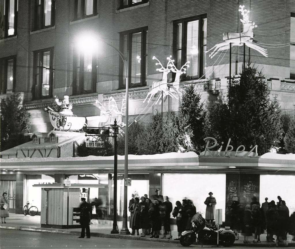 Downtown Dayton for the Holidays through the years