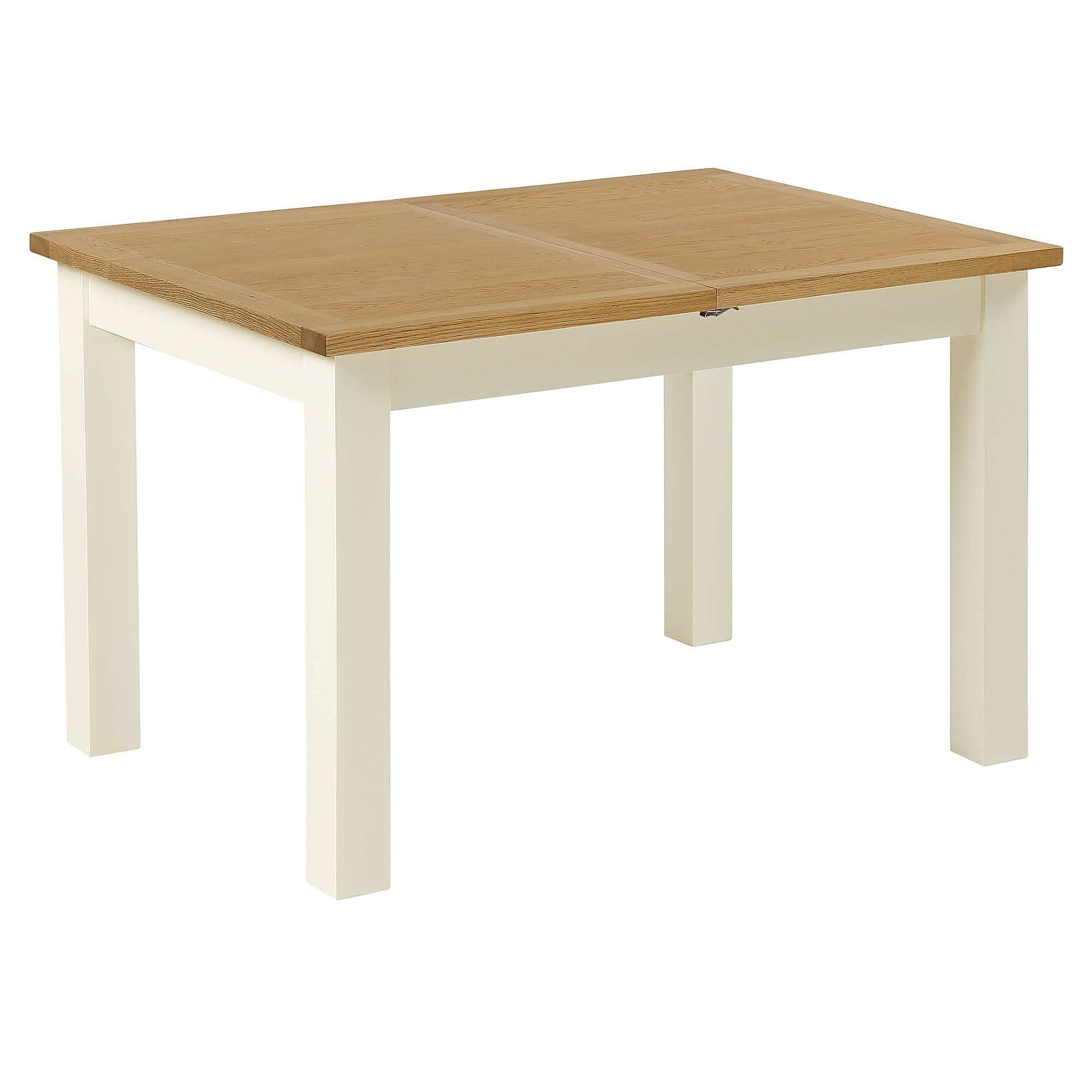 Sidmouth Cream Compact Extending Dining Table Extendable Dining
