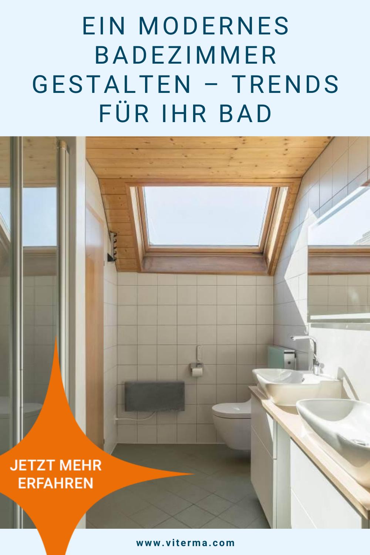 Ein Modernes Badezimmer Gestalten Trends Fur Ihr Bad In 2020 Badezimmer Gestalten Badezimmer Modernes Badezimmer
