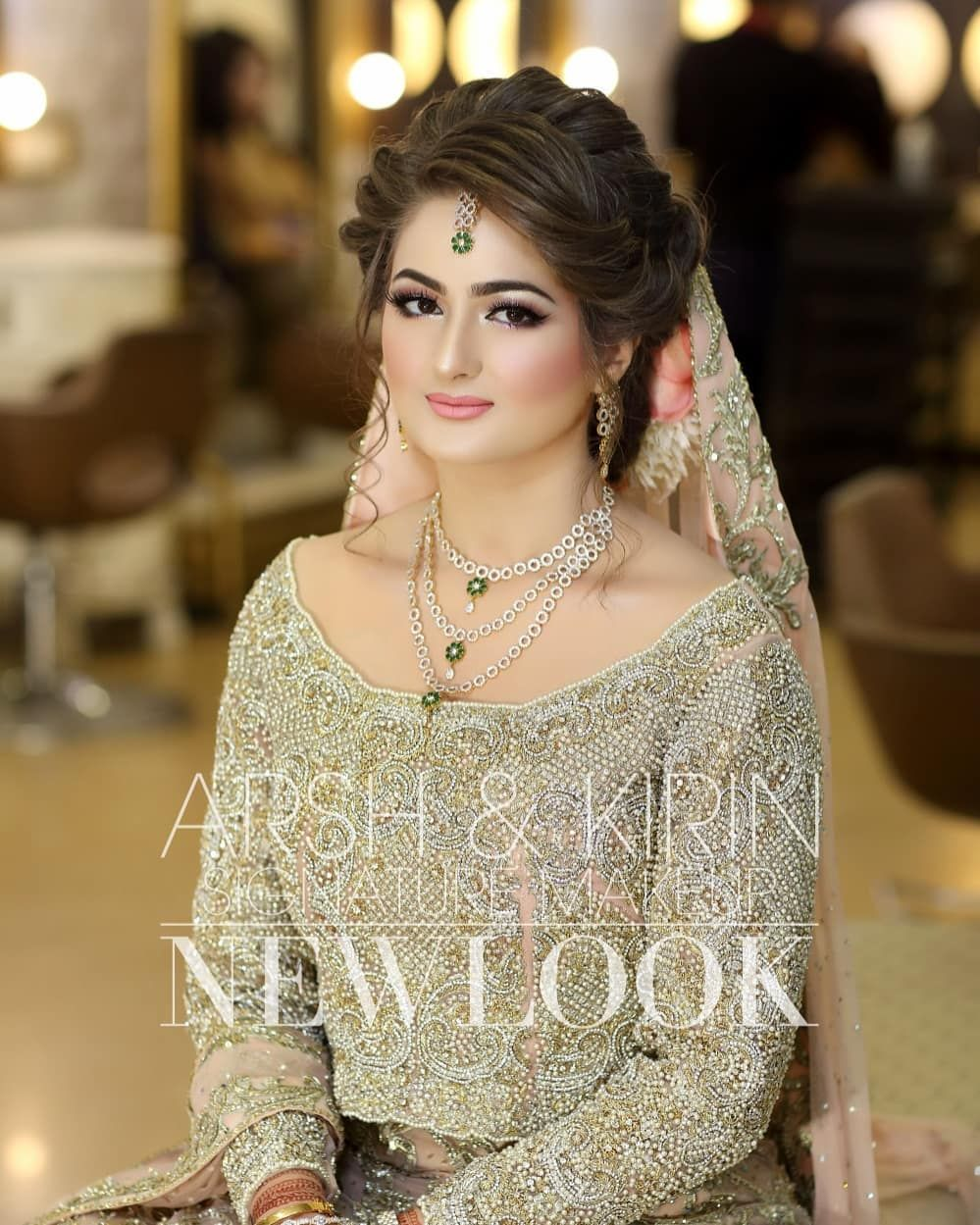 Image May Contain One Or More People Pakistani Bridal Makeup Hairstyles Pakistani Bridal Makeup Pakistani Bridal Hairstyles