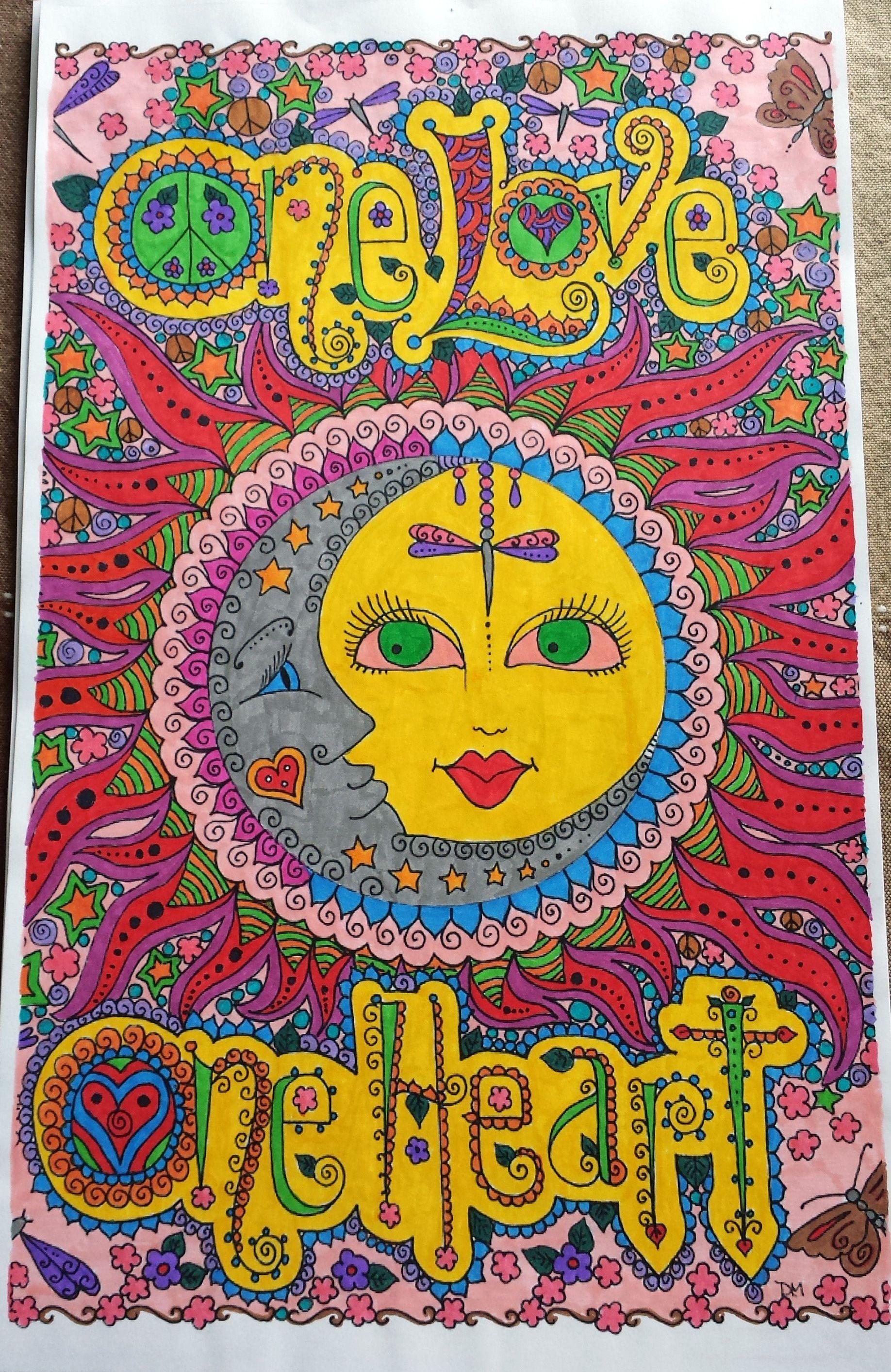 Épinglé par Nicole sur Coloriages faits | Coloriage