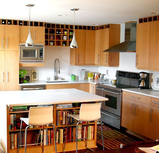 Kitchen Cabinets Seattle: Alison & Kevin's Floor-to-Ceiling Kitchen Remodel In