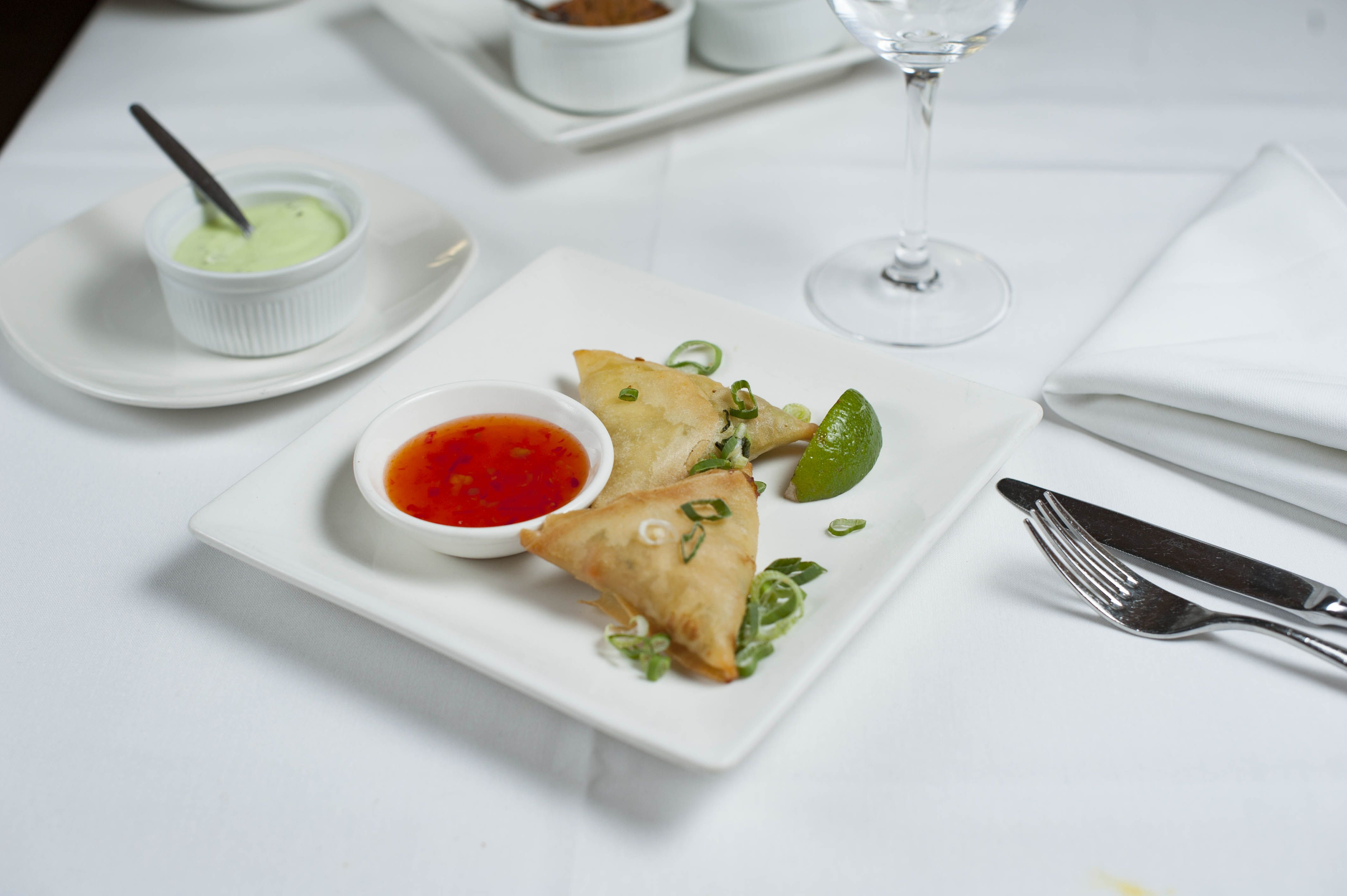 Non-Vegetarian Starters - Chicken Samosa