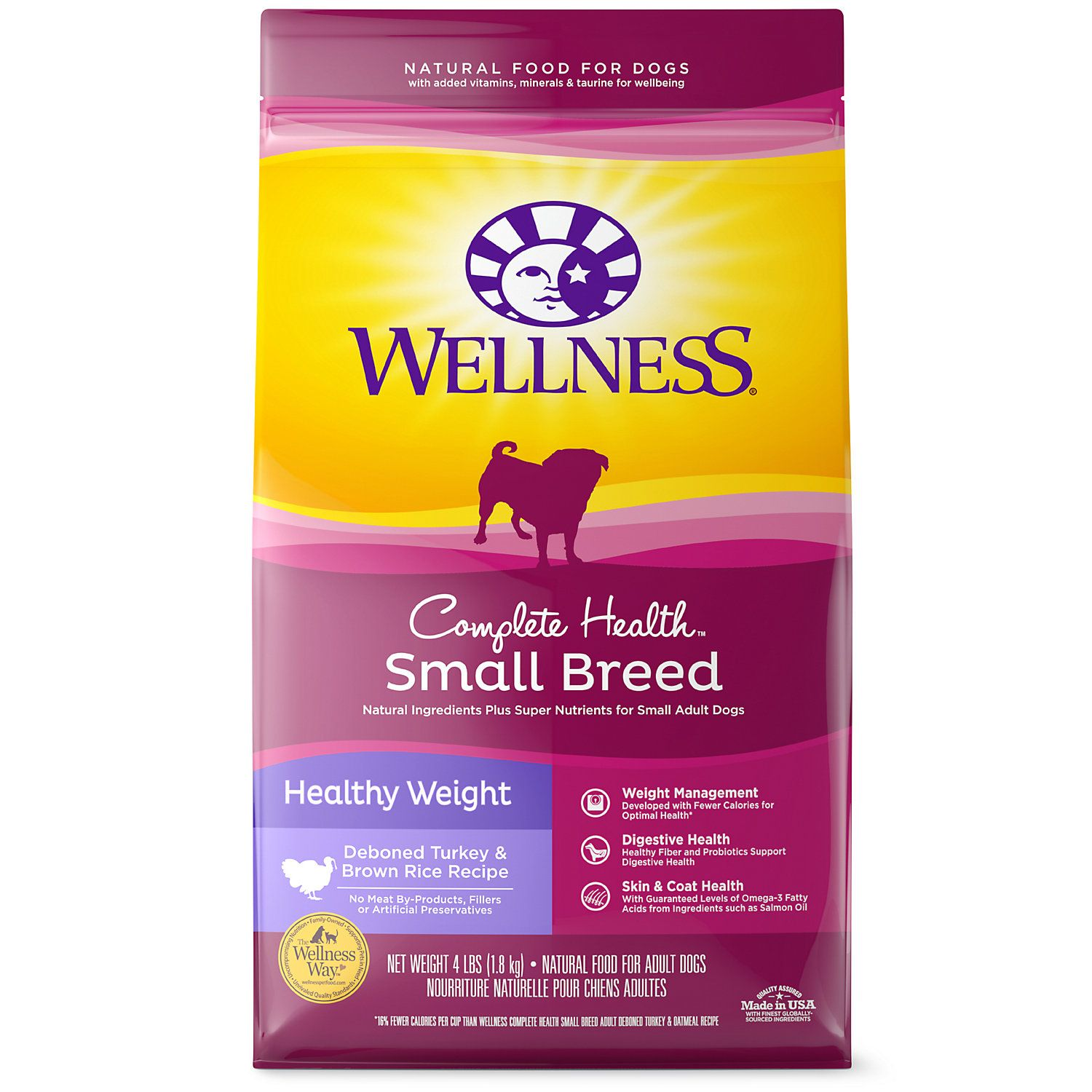 Wellness Complete Health Natural Small Breed Healthy Weight Recipe