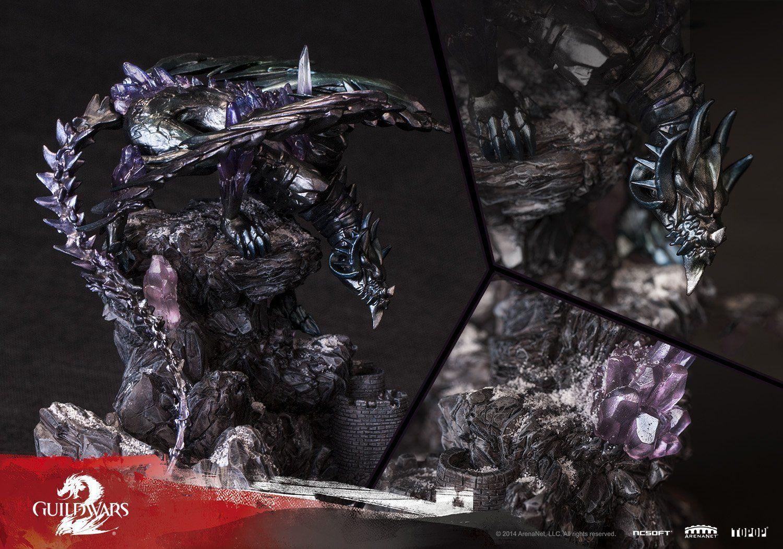 Amazon com: TOPOP Guild Wars 2 The Shatterer The Branded Dragon