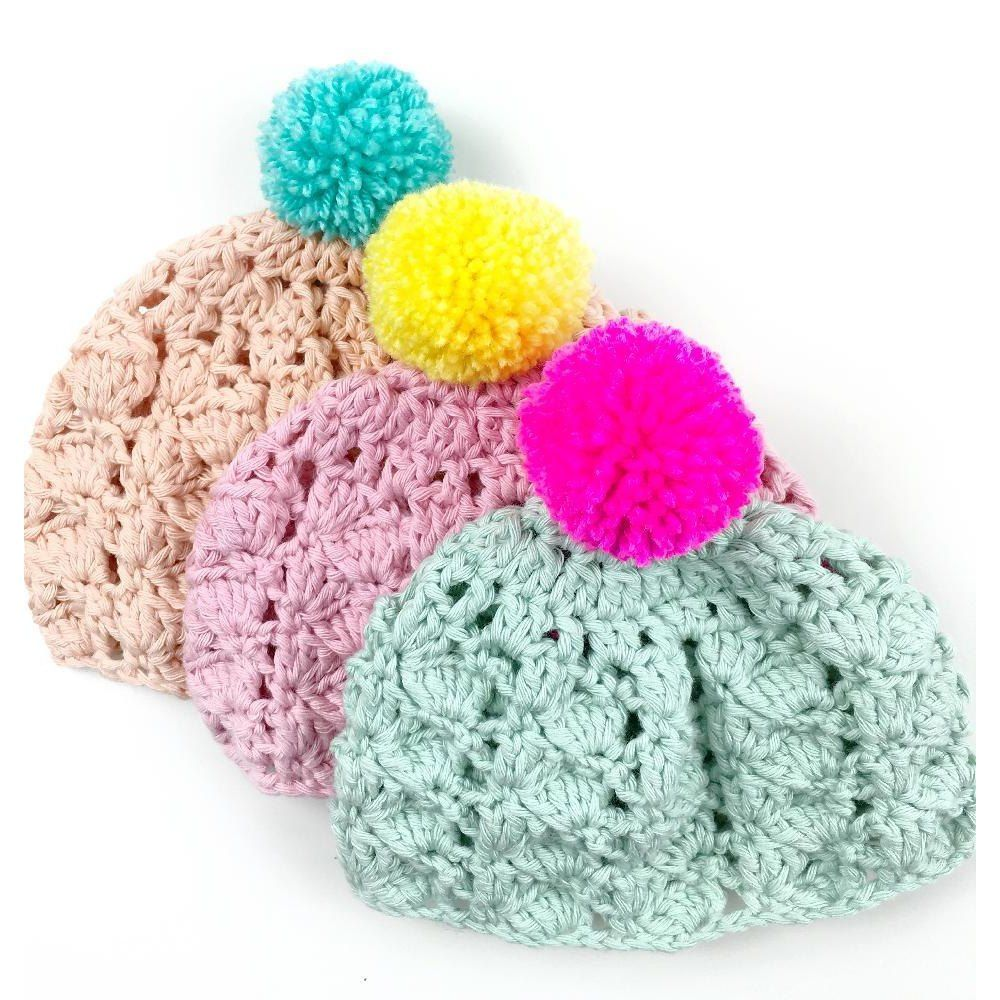 The bonny cotton baby hat is a quick and easy to intermediate the bonny cotton baby hat is a quick and easy to intermediate crochet project for babies bankloansurffo Choice Image