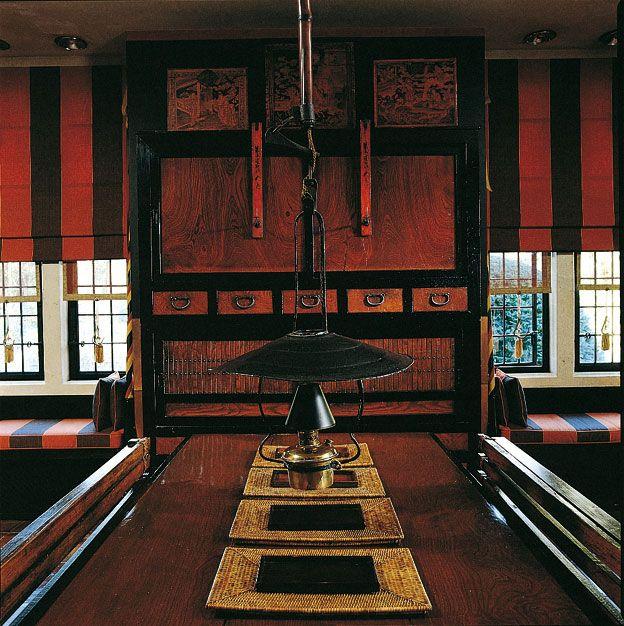 Eclectic Big Striped The Illustrious Designer Hotelier Anouska Hempel