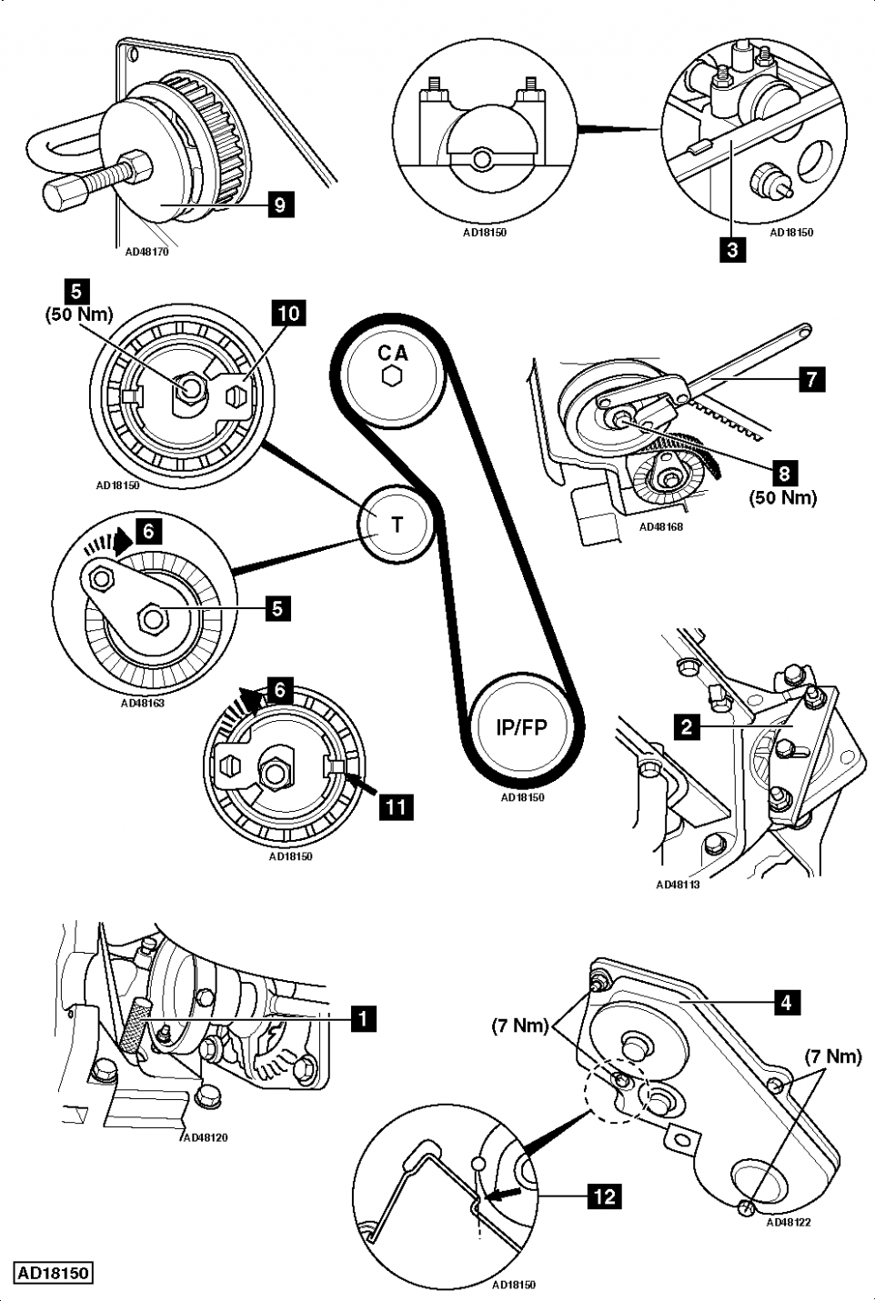 Ford Focus Engine Belt Diagram di 2020