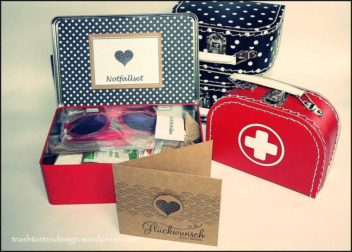 Notfallset Notfall Set Notfallset Hochzeitsgeschenk Basteln