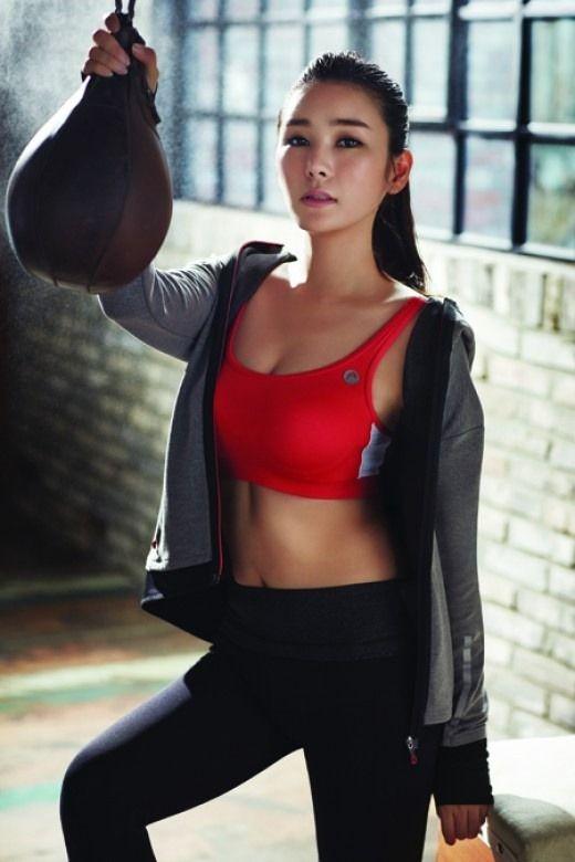 Asian girls kickboxing sorry
