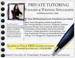 English and Writing Tutoring