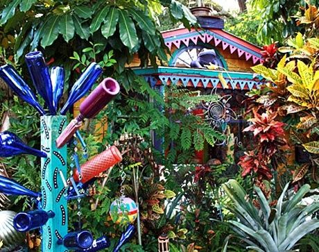 Fairy Tale Cottages   This colorful fairy-tale cottage features over 500 brightly ...   my ...