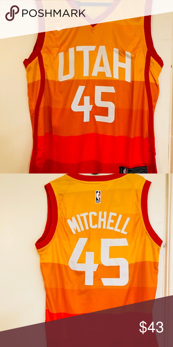 779306d61 Donovan Mitchell  45 Utah Jazz city edition jersey Brand new with ...