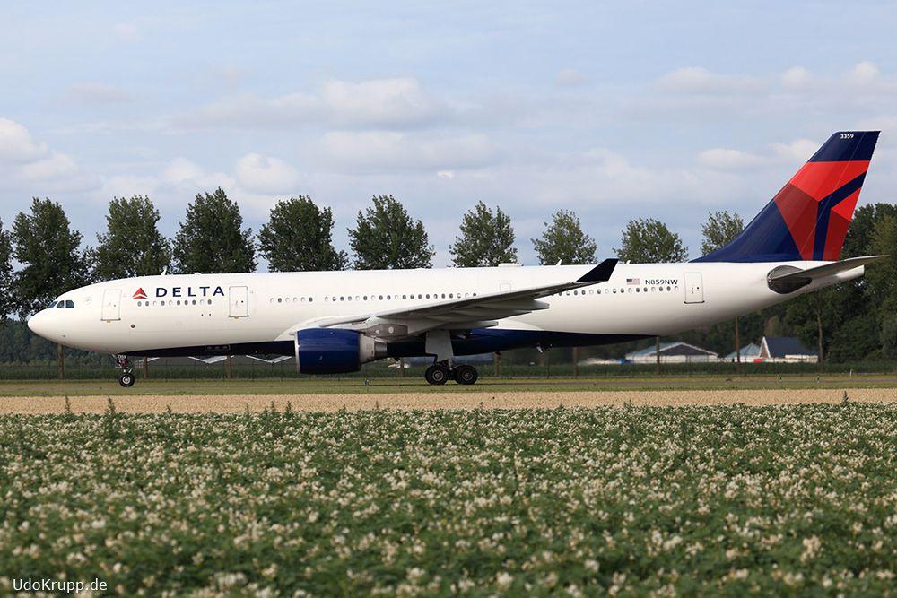 N859nw 15 07 2017 At Amsterdam Ams Cn 722 Airbus A330 223