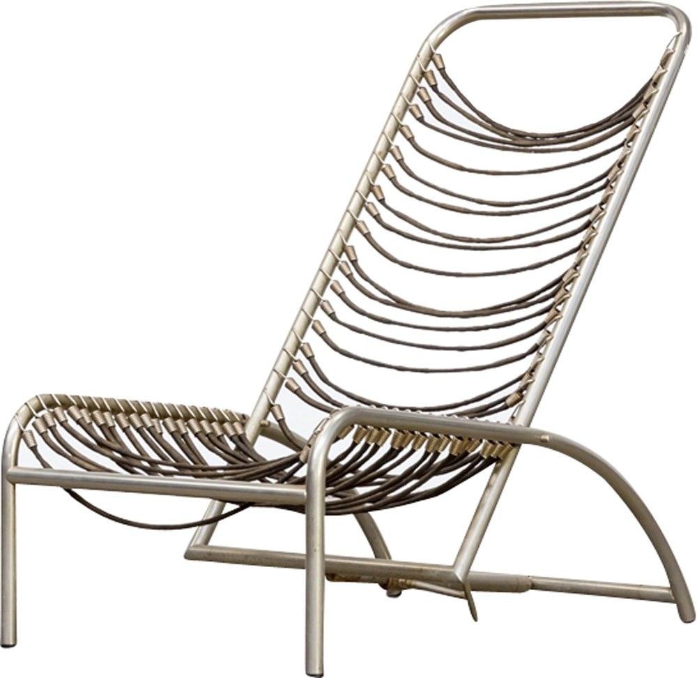 Chaise Vintage Sandow By Rene Herbst 1950 Hard Home